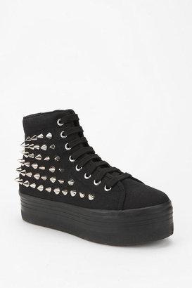 Jeffrey Campbell HOMG Spike-Stud High-Top Flatform-Sneaker