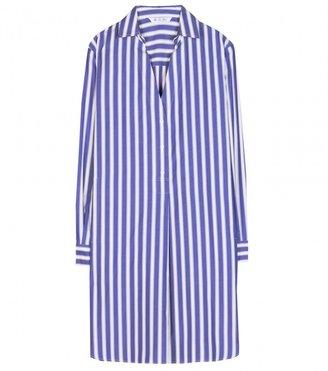 Loro Piana Limnos striped cotton shirt dress