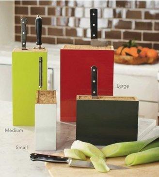 Viva Terra Bamboo Box Knife Holder