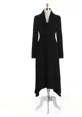 Jones New York J Cowlneck Maxi Dress
