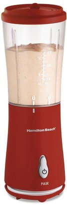 Hamilton Beach Single-Serve 12 oz. Blender in Red with Travel Lid