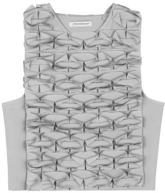 J.W.Anderson Grey Japanese Canvas Butterfly Top