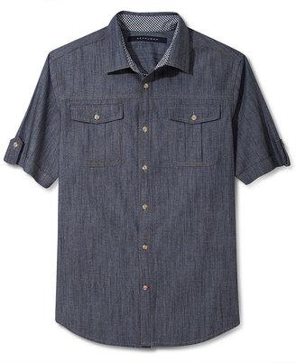 Sean John Shirt, Chambray Shirt