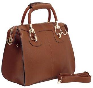 MG Collection Marissa Top-Handle Doctor Shoulder Bag $65 thestylecure.com
