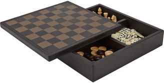 B.Home Interiors Leather 3-in-1 Game Box $1,350 thestylecure.com