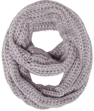 Dorothy Perkins Blue shimmer knitted snood