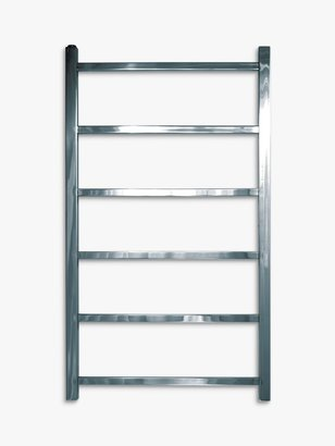 John Lewis & Partners Peel 900 Central Heated Towel Rail and Valves, from the Floor