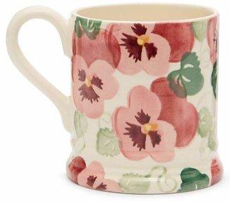 Emma Bridgewater Pink Pansy Mum Half-Pint Mug