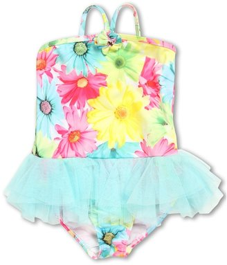 Kate Mack Dipped In Daisies Swimsuit (Little Kids) (Multi) - Apparel
