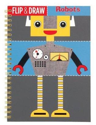 Mudpuppy Robots Flip And Draw