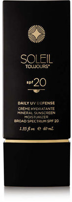 Soleil Toujours - Spf20 Daily Moisturizer For Face, 50ml - Colorless $55 thestylecure.com
