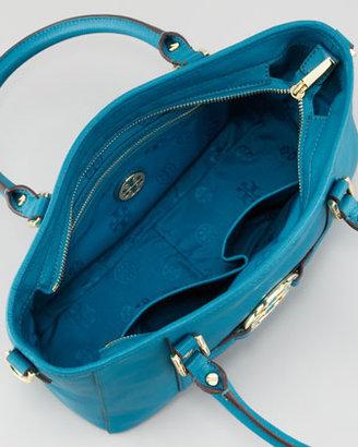Tory Burch Amanda Mini Satchel Bag, Electric Eel