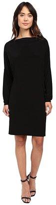 KAMALIKULTURE by Norma Kamali All In One Dress (Black) Women's Dress