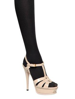Saint Laurent 140mm Tribute Two Patent Sandals