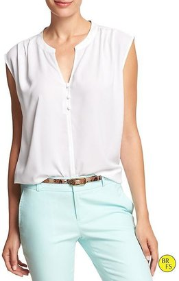 Banana Republic Factory Pleated Top