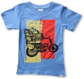 Appaman Kids - Bikes Super Soft T-Shirt (Toddler/Little Kids/Big Kids) (Monterey) - Apparel