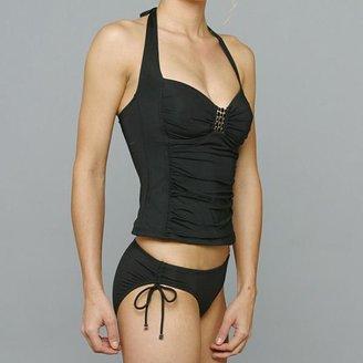 Jantzen Black Tankini and Hipster Bottom Bikini $59.99 thestylecure.com