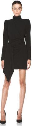 Helena Skaist Taylor Drape Front Dress in Black