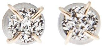 Melissa Joy Manning Druzy stud earrings