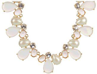 Kate Spade Crystal Chapel Necklace (Neutral Multi) - Jewelry
