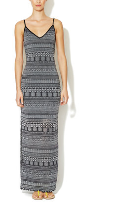 Dolce Vita Enlai Cotton Printed Maxi Dress