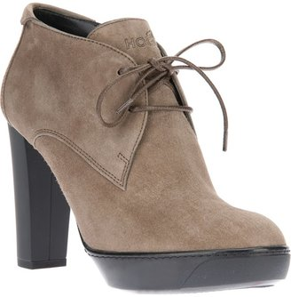Hogan lace up ankle boot