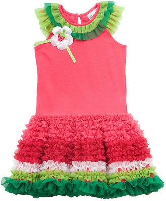 Rare Editions Kids Dress, Little Girls Watermelon Tutu