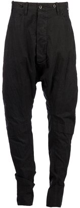 Lost And Found drop crotch trouser