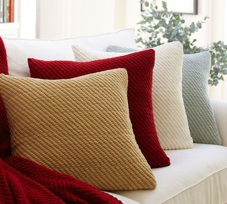Earth Friendly Grand Chenille Pillow Covers