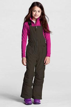 Lands' End Little Girls' Waterproof Squall Snow Bib