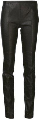 Proenza Schouler high waist leather skinny trouser