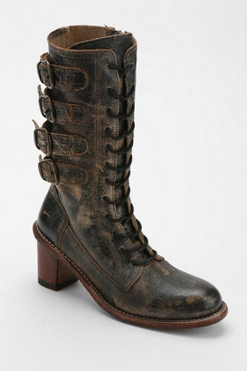 Bed Stu Fiona Distressed Buckle Boot