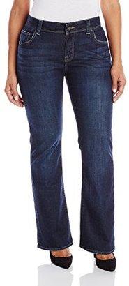 Lucky Brand Women's Plus-Size Georgia Boot Cut Jean In Richland