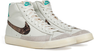 Nike White/Python Blazer Mid ́77 Premium Vintage Sneakers