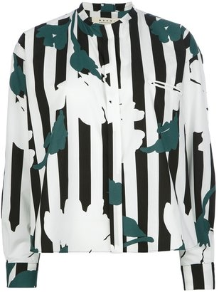 Marni striped blouse