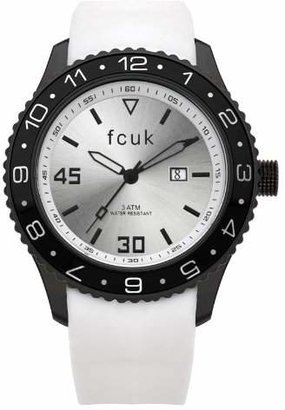 French Connection Men's FC1094BW Plastic Rubber Watch