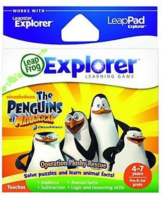 Leapfrog Leapster Explorer Learning Game - The Penguins of Madagascar Operation Plushy Rescue