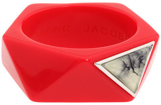 Marc by Marc Jacobs Industrial Faceted Resin Bangle