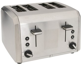 Waring WT400 Professional 4-Slice Toaster (Brushed Stainless) - Home