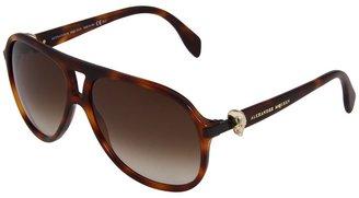 Alexander McQueen AMQ4179/S (Havana/Brown Gradient) - Eyewear