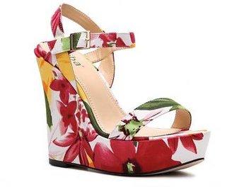 Diba Rosey Floral Wedge Sandal