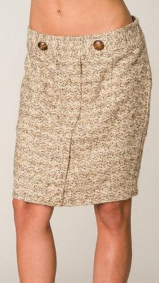 Tracy Reese Vanilla/Camel Pegged Skirt