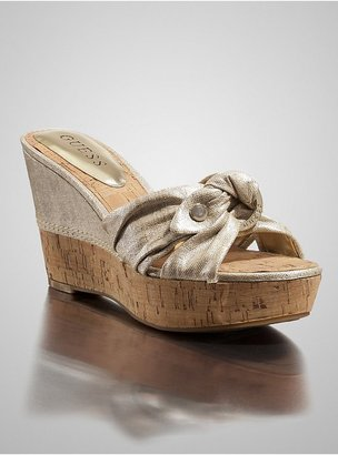 GUESS Galloway Slide Wedges