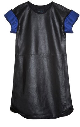 Cynthia Rowley Envelope Leather Dress