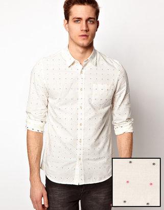 Asos Shirt With Polka Dot