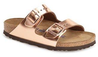 Women's Birkenstock 'Arizona' Patent Leather Sandal $134.95 thestylecure.com