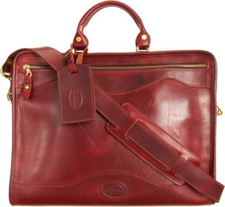 J.W. Hulme Top Zip Briefcase