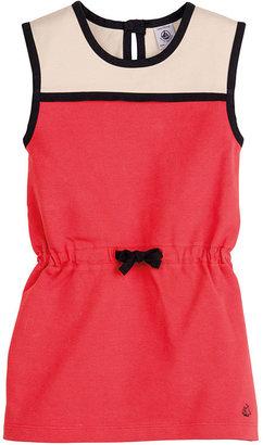 Petit Bateau Girl'S Sleeveless Jersey Dress
