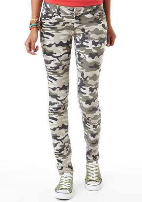 Camo Print Skinny Jean