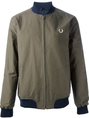 Fred Perry 'Tartan Tennis' bomber jacket